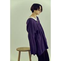 "【""little $uzie"" Original #3】Angola Double  V-neck Pullover (ls070)"