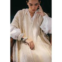 Hoodie Knit Poncho(ls182K)