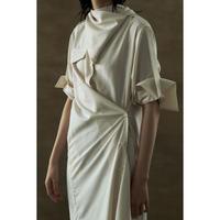 """【""""little $uzie"""" Original #5】Scarf Shirt Dress(ls140D)"""