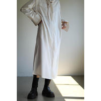 Scarf Shirt Dress(ls140D)