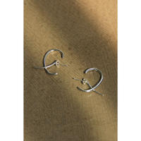 【KNOBBLY STUDIO】DEBUT EARRINGS  Silver(GS001-00102)