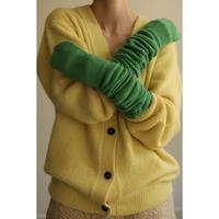 Alpaca Mix V-neck Cardigan(ls14251K)