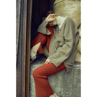 "【""little $uzie"" Original #3】Meino wool Slit Knit Pants (ls072)"