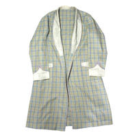 【USED】VINTAGE CHECK GOWN