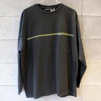 【USED】DKNY LS PRINT TEE