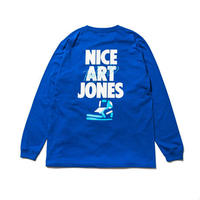 【NEW】NICE ART JONES LS T-SHIRTS(RUTSUBO×ALLRAID)