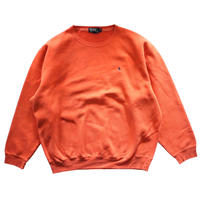 【USED】POLO RALPH LAUREN LOGO SWEAT