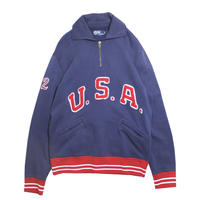 【USED】RALPH LAUREN USA SWEAT