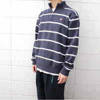 【USED】POLO JEANS COMPANY HALF ZIP SWEATER