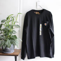 【新品】CARHARTT LS POCKET TEE