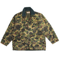 【USED】SAFTBAK 70s CAMO HUNTING JACKET