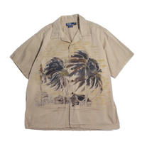【USED】RALPH LAUREN VINTAGE CAMP SS SHIRTS