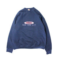 【USED】NYC CREW NECK SWEAT