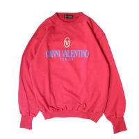 【USED】VALENTINO LOGO SWEAT