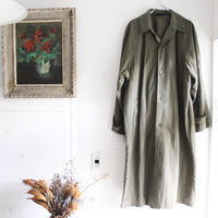 【USED】KENNETH BARNARD NYLON LONG COAT