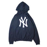【NEW】NEWYORK YANKEES LOGO HOODIE
