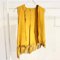 【USED】VINTAGE SUEDE VEST(WOMANS)