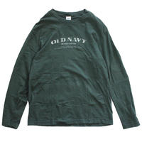 【USED】OLD NAVY LOGO LS TEE