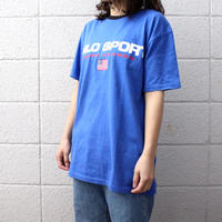 【USED】POLO SPORT LOGO TRIM TEE