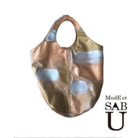 <ModEet SAB>本革レザー,トートバックゴールド