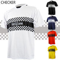 トレーニングシャツ(チェッカー/ホワイト、ブラック、ネイビー、レッド、イエロー)