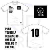 イバ選手デザイン コットンTシャツ(ホワイト)