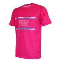 プラクティスシャツ(linea)ピンク/ホワイト/スカイブルー