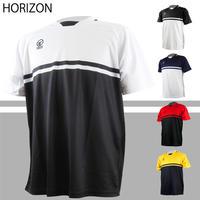 トレーニングシャツ(ホライズン/ホワイト、ブラック、ネイビー、レッド、イエロー)