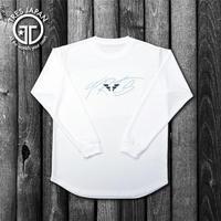 【TRESJAPAN】HeiQ ウイングロゴ ロングTシャツ(ホワイト)