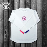 【TMC】HeiQ Stripe Long-sleeve T-shirts(White)