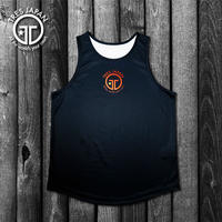 【TMC】HeiQ Point Logo Tanktop(Sunset)