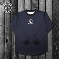 【TRESJAPAN】HeiQ ポイントロングTシャツ(ブラック)