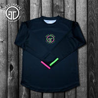 【TMC】HeiQ Stripe Long-sleeve T-shirts(Black)