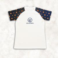 トレスロゴ スターTシャツ(レッド)