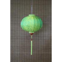 ベトナムランタン 丸形 Lサイズ 黄緑