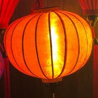 ベトナムランタン 丸形 Lサイズ 橙色