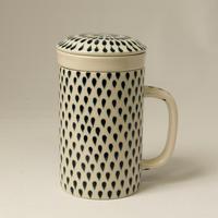 バッチャン焼き ティーマグカップ(フタ・フィルター付き)