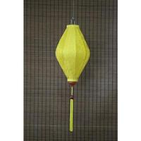 ベトナムランタン ひし形 Lサイズ 黄