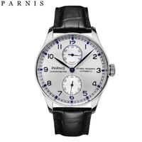 メンズ 腕時計 人気 シンプル 革 ベルト parnis パーニス おすすめ 機械式 パワーリザーブ