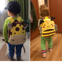 子供 リュック バックパック かわいい おすすめ 幼稚園 通園 通学用 動物 ランドセル ぬいぐるみ