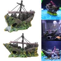 アクアリウム レイアウト オブジェ 沈没船 デザイン ジオラマ