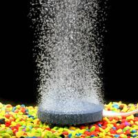 アクアリウム レイアウト おしゃれ エアー バブル ストーン ポンプ 空気 酸素 プレート 水槽