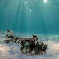 アクアリウム 装飾 オーナメント オブジェ 魚 の 隠れ家 水槽 戦闘機