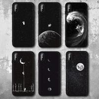iPhone スマホケース 人気 おしゃれ 宇宙飛行士 スペース ムーン プラネット スター