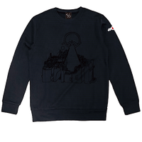 SUPER BLACK tricot CITY SWEAT