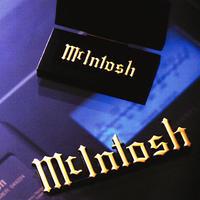 Mcintosh マッキントッシュ オリジナルエンブレム(中)W104mm  MYG001