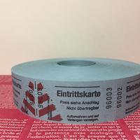 【ドイツ】Eingrittskarte(入場券)チケット ブルー 1ロール(1000片)