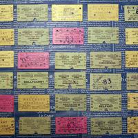 【イギリス】1960年代前半 使用済み切符(硬券) おまかせ30枚セット