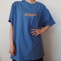 【※数量・サイズに限りあり】シルエットTシャツ【インディゴブルー🌍】