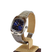 fleur:フル―ル 《F007 - SILVER/BLUE》腕時計 メタルバンド